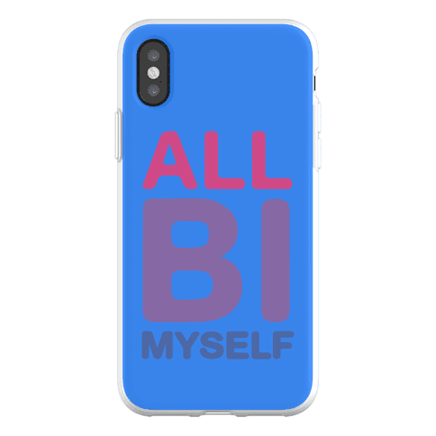 All Bi Myself Phone Flexi-Case