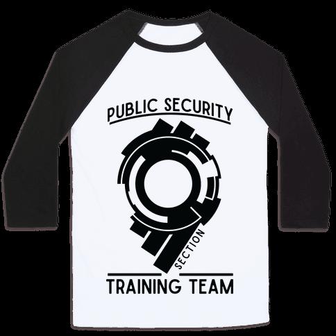 Section 9 Public Security Training Team  Baseball Tee