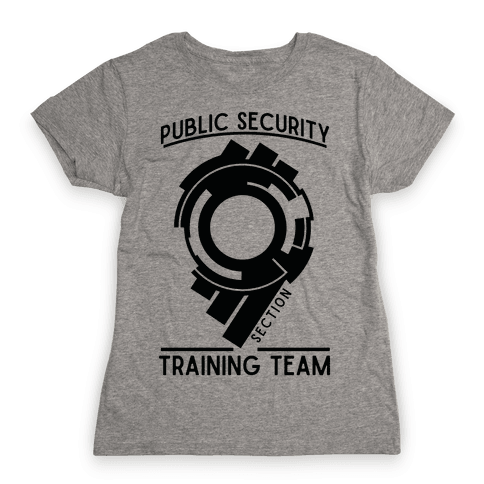 Section 9 Public Security Training Team  Womens T-Shirt