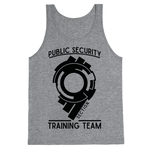 Section 9 Public Security Training Team  Tank Top