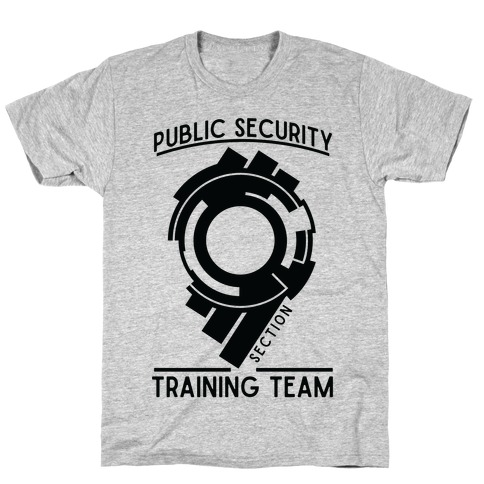 Section 9 Public Security Training Team T-Shirt