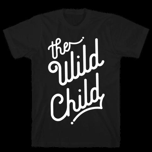The Wild Child White Mens T-Shirt