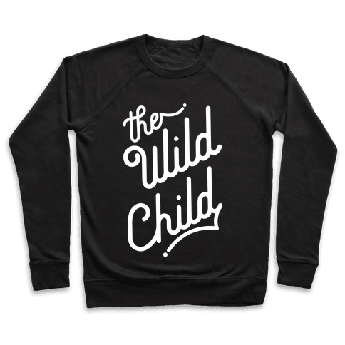 The Wild Child White Pullover