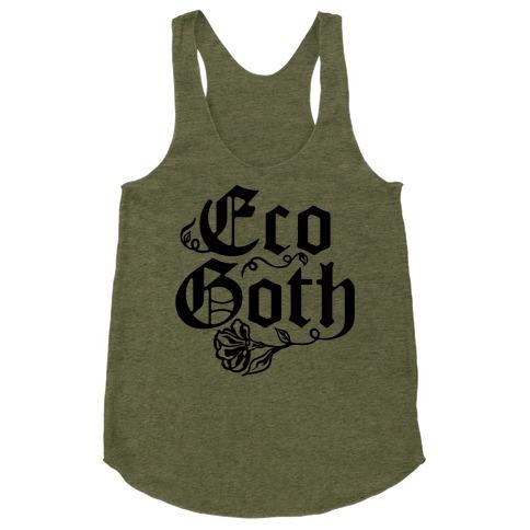 Eco Goth Racerback Tank Top