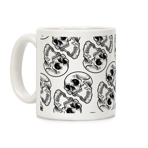 Skull Pattern Mug Coffee Mug