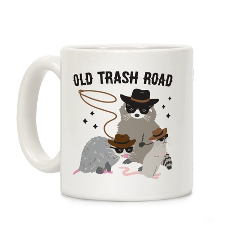 Old Trash Road Coffee Mug