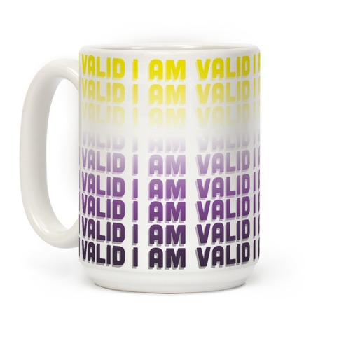 I Am Valid - Non-binary Coffee Mug