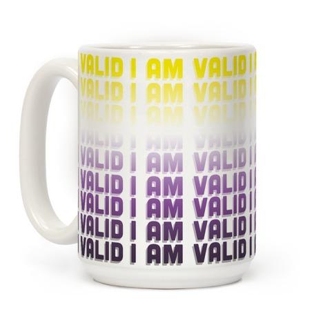 I Am Valid - Non-binary Coffee Mug
