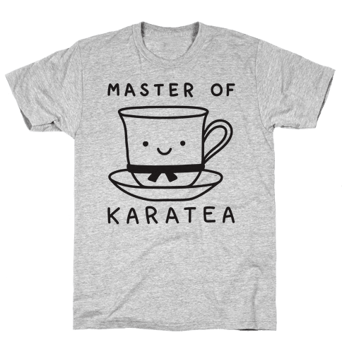 Master Of KaraTEA Mens T-Shirt
