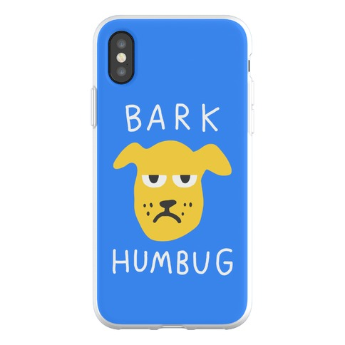 Bark Humbug Phone Flexi-Case