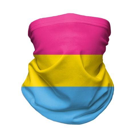 Pansexual Flag Neck Gaiter
