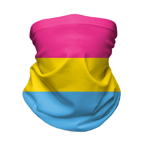 Pansexual Flag Neck Gaiter