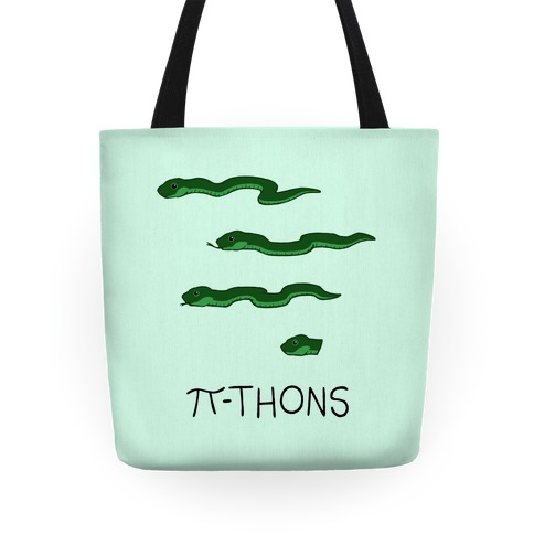 Pi-thons Tote