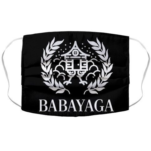 Baba Yaga Balenciaga Parody Accordion Face Mask