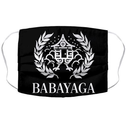 Baba Yaga Balenciaga Parody Face Mask