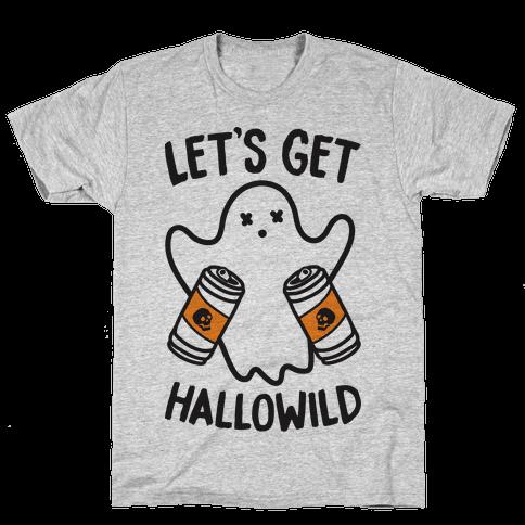 Let's Get Hallowild Mens T-Shirt