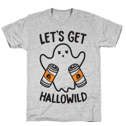 Let's Get Hallowild Mens T-Shirt