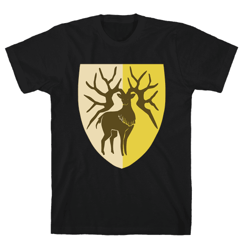 Golden Deer Crest - Fire Emblem Mens/Unisex T-Shirt