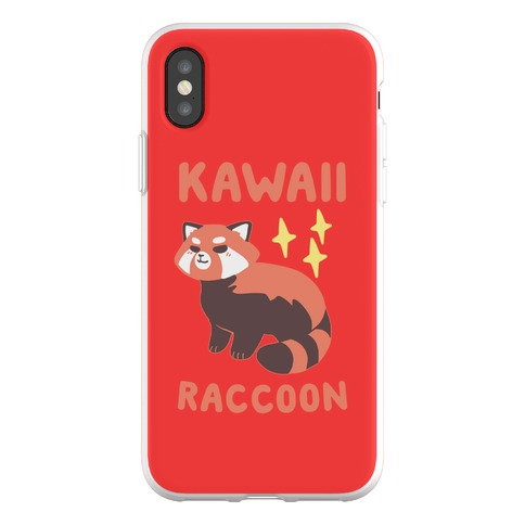Kawaii Raccoon - Red Panda Phone Flexi-Case