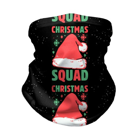 Christmas Squad Neck Gaiter