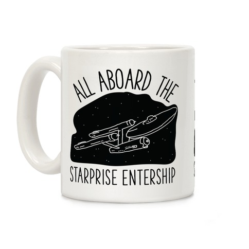 All Aboard The Starprise Entership Coffee Mug