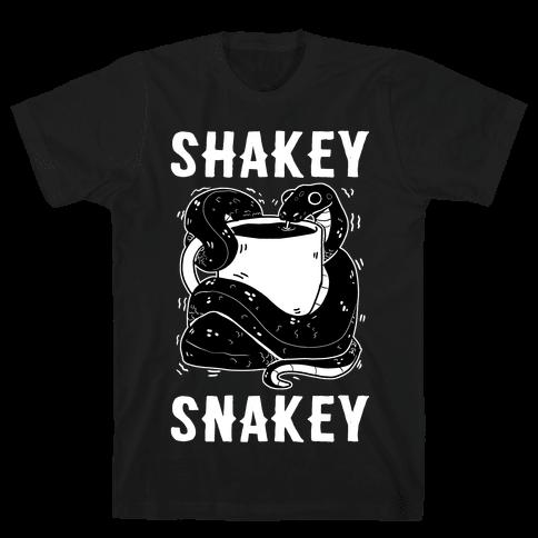 Shakey Snakey Mens/Unisex T-Shirt