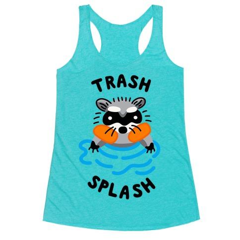 Trash Splash Racerback Tank Top