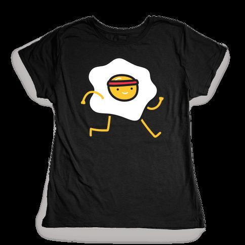 Runny Egg Womens T-Shirt