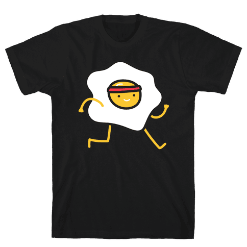 Runny Egg Mens T-Shirt