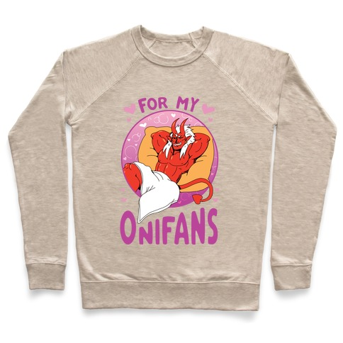 For My Onifans Pullover