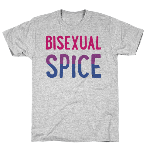 Bisexual Spice Mens T-Shirt