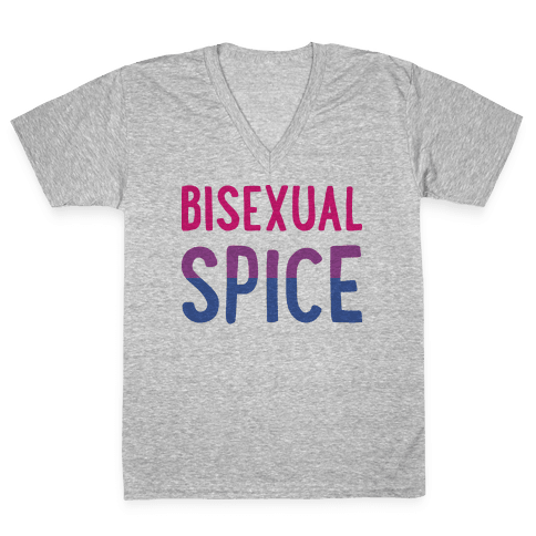 Bisexual Spice V-Neck Tee Shirt