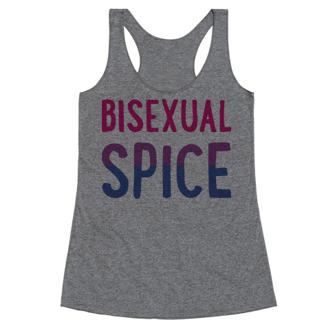 Bisexual Spice Racerback Tank Top