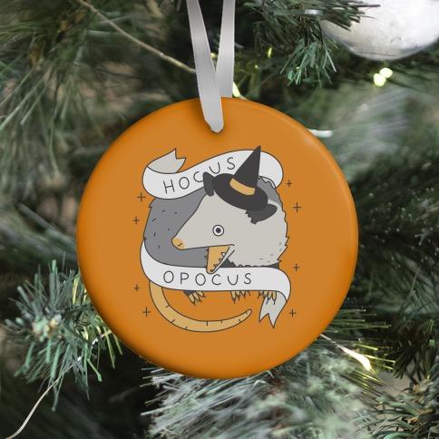 Hocus Opocus Opossum Ornament