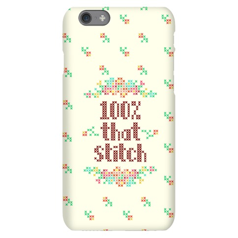 100% That Stitch Phone Case