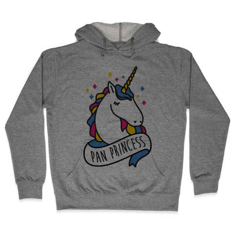 Pan Princess Unicorn Hooded Sweatshirt