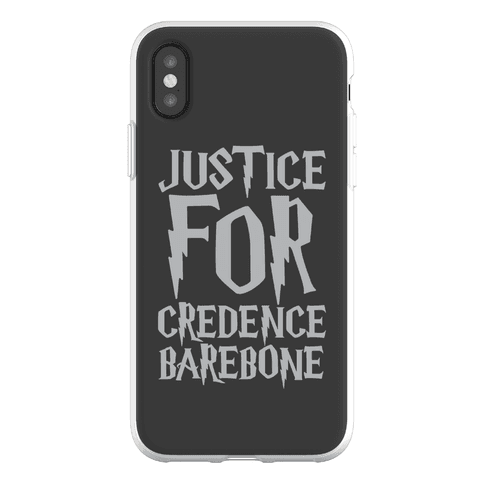 Justice For Credence Barebone Phone Flexi-Case