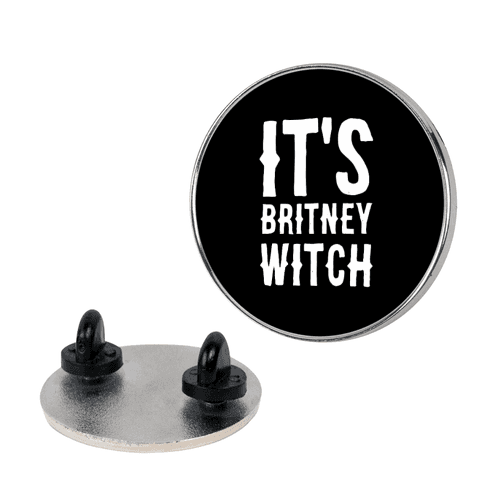 It's Britney, Witch Pin