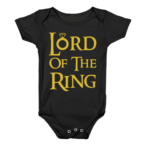 Lord of the Ring Baby Onesy