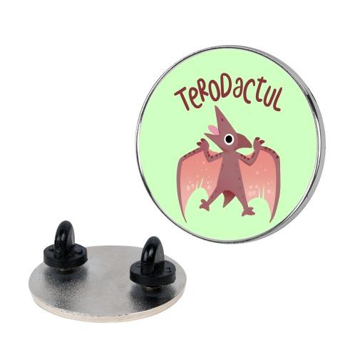 Derpy Animals Terodactul Pin