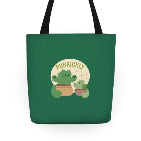 Purrickly! Tote