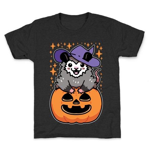 Cute Halloween Possum Kids T-Shirt