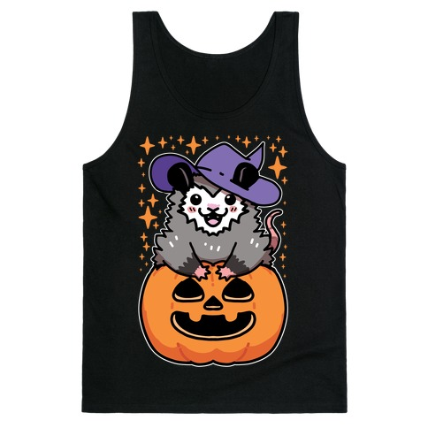 Cute Halloween Possum Tank Top