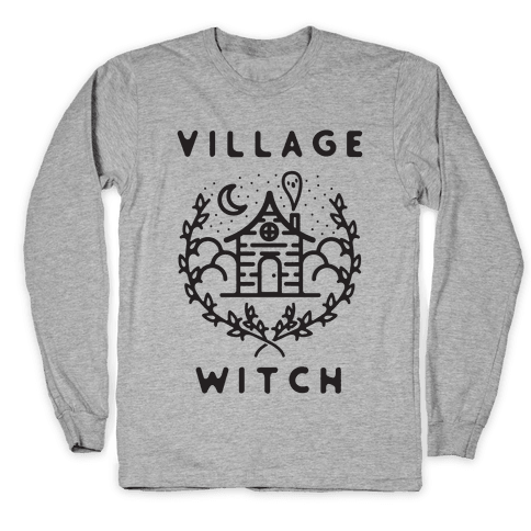 Village Witch Long Sleeve T-Shirt