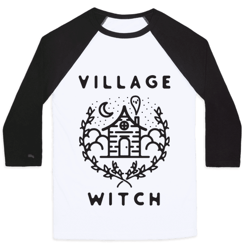 Village Witch Baseball Tee