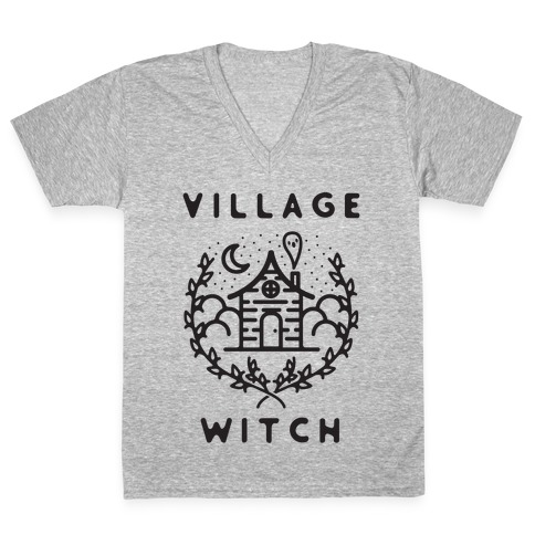 Village Witch V-Neck Tee Shirt