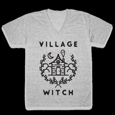 Village Witch V-Neck Tee Shirt