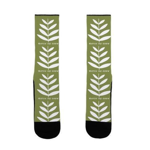 Watch Me Grow Plant Sock
