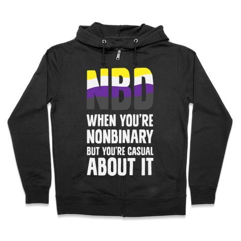 NBD Zip Hoodie