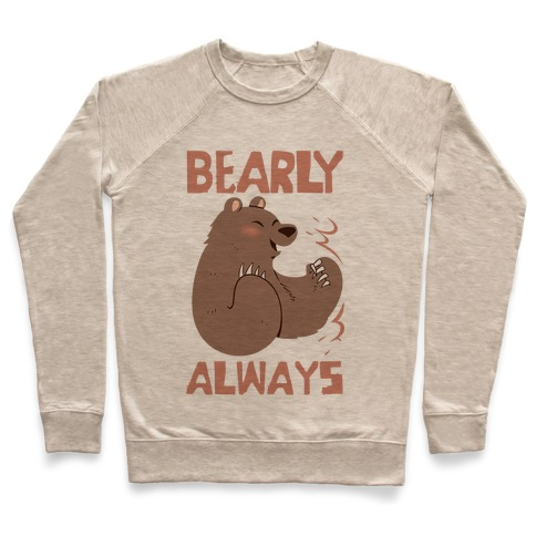 Bearly Apart, Always Together (Left) Pullover